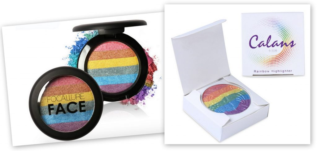 rainbow bronzer highlighter