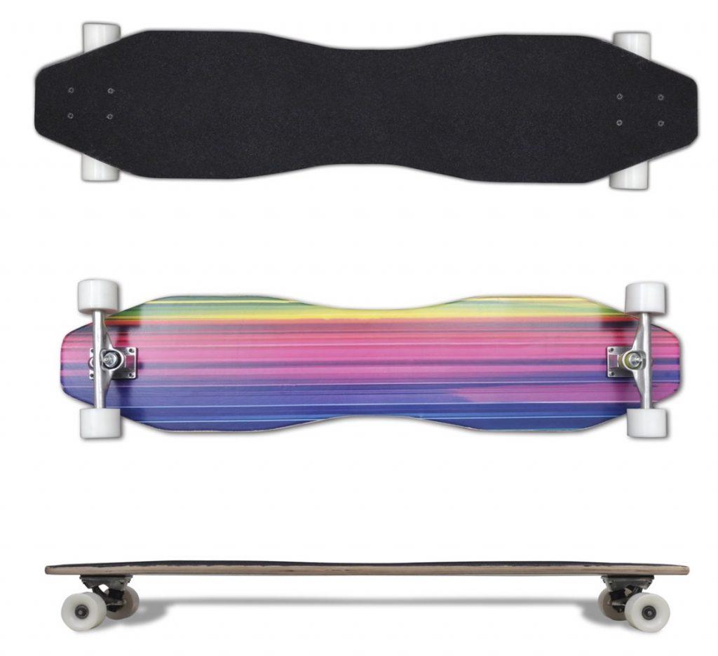 regenboog longboard