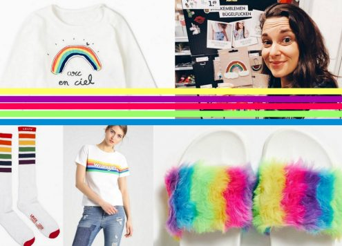 regenboog kleding items