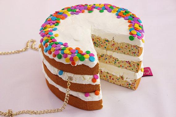 regenboog taart fashion