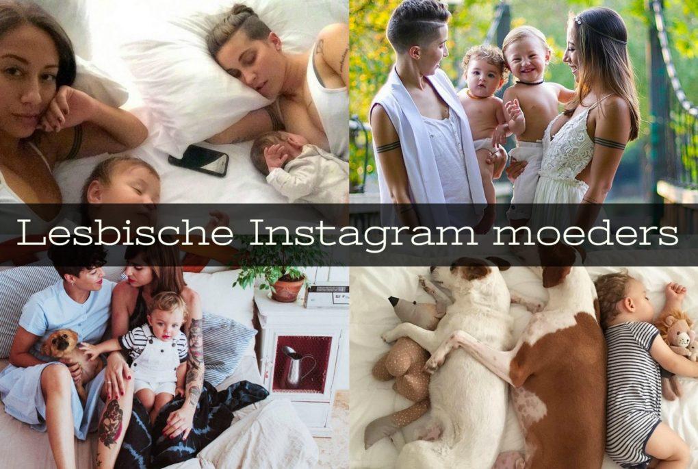 lesbische instagram moeders