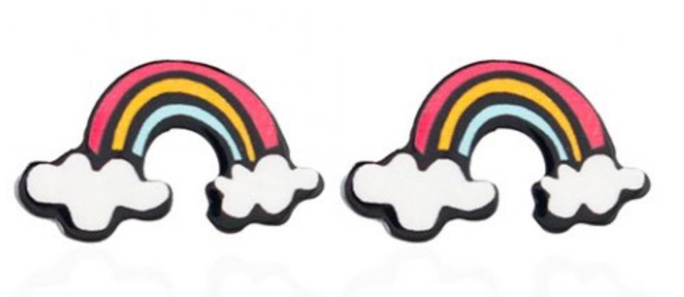 rainbow oorbellen