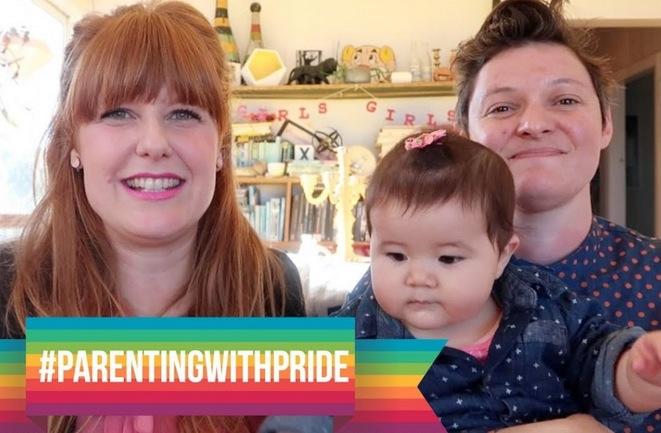 lesbische moeders op YouTube
