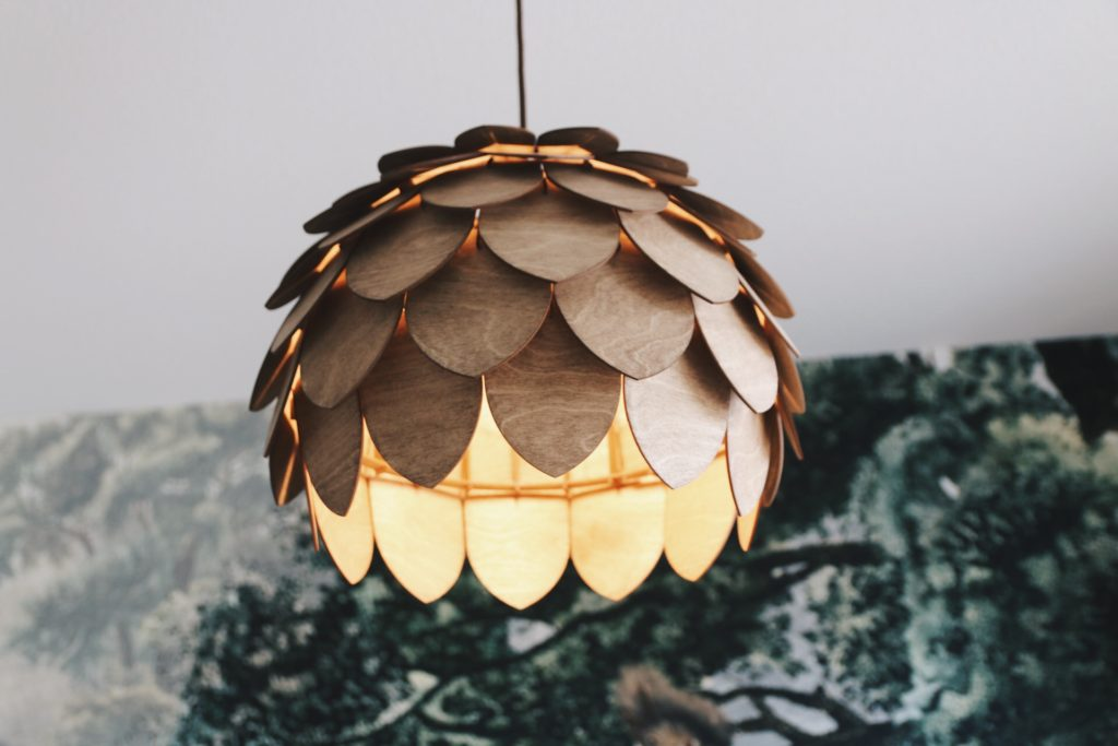 lamp hout etsy
