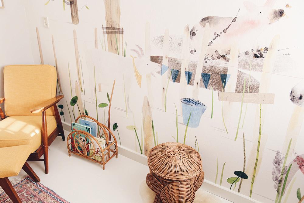 Behang Voor Kinderkamer : Behang voor de babykamer of kinderkamer eijffinger ik vrouw van jou